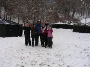 Pfadis im Schnee